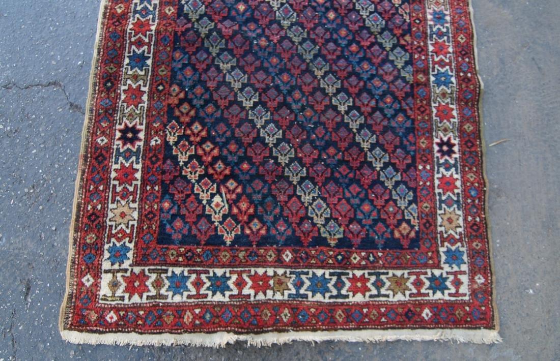 """19th c.  Caucasian rug - 35"""" x 52"""" - 3"""