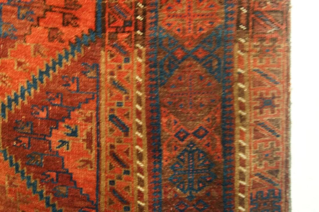 """19th cen  Antique Beluch Rug  79"""" x 135"""" - 4"""