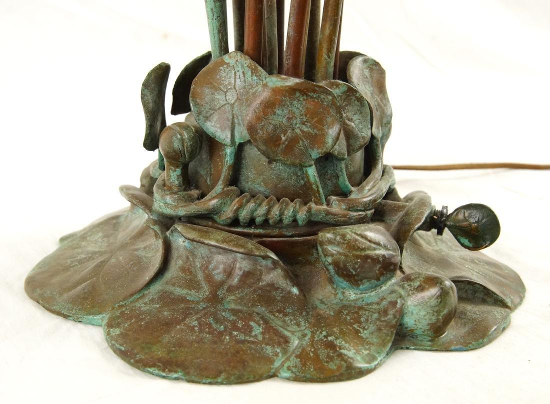 Tiffany style 12-light lily desk lamp - 3