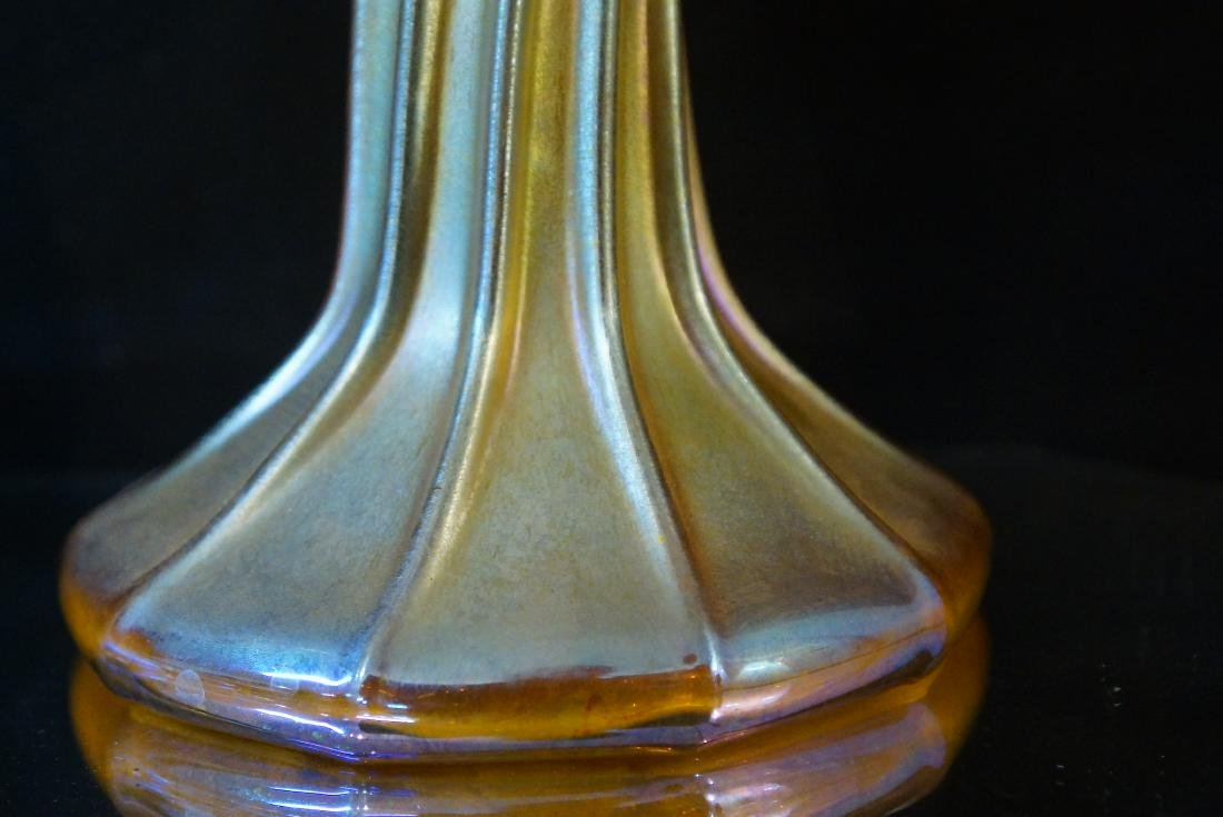 Tiffany pair candle sticks (LCT 3268) - 3