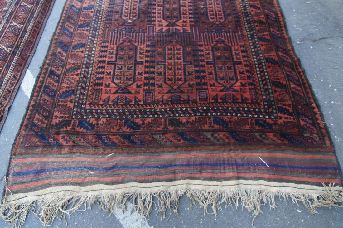 19th cen.  Beluch rug  65' X 102' - 2