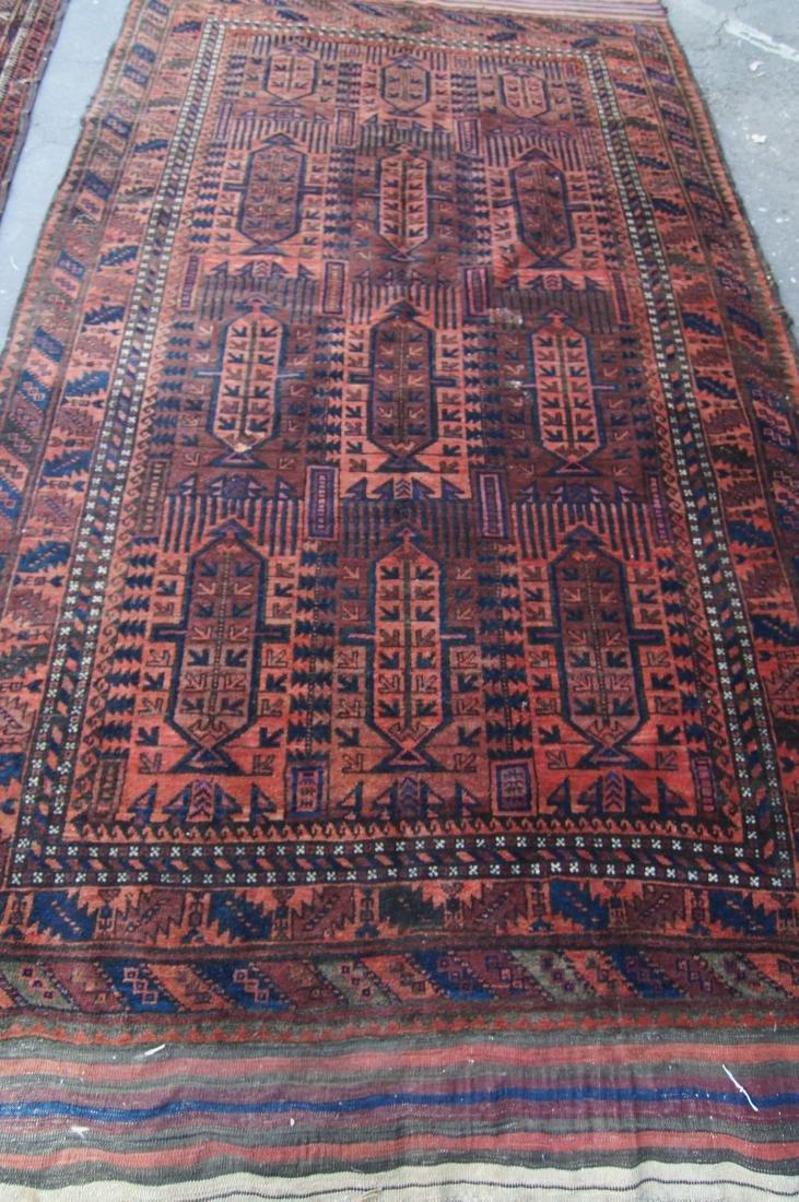 19th cen.  Beluch rug  65' X 102' - 3