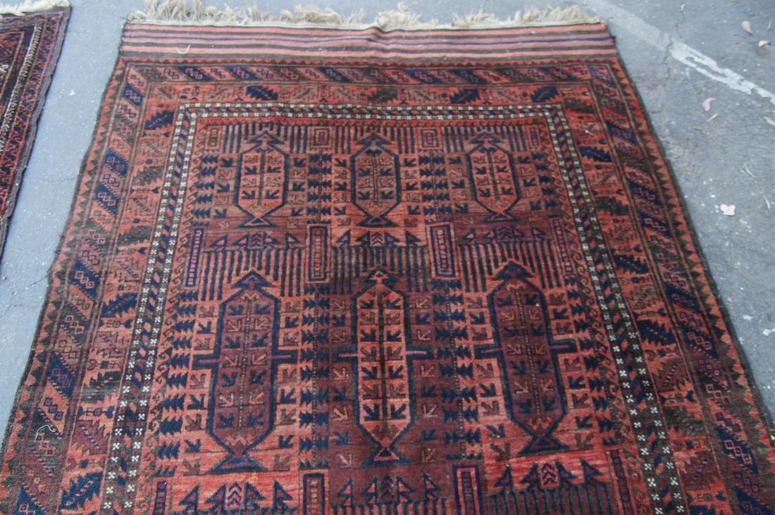 19th cen.  Beluch rug  65' X 102' - 4