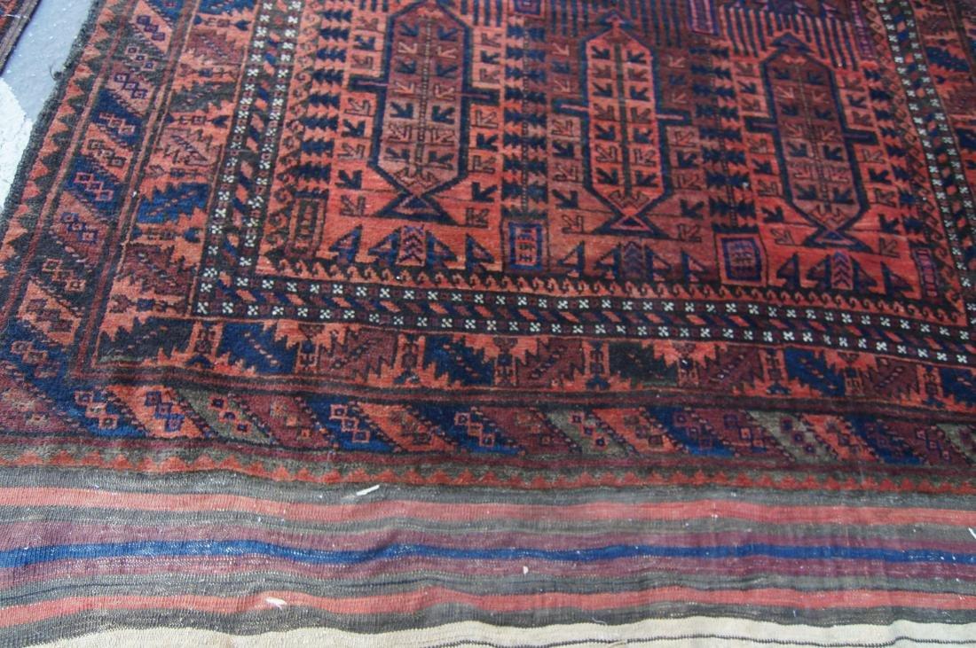 19th cen.  Beluch rug  65' X 102' - 5