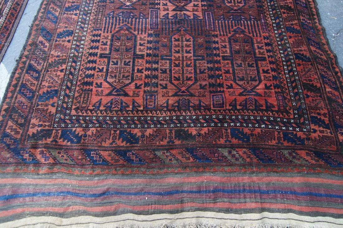 19th cen.  Beluch rug  65' X 102' - 6