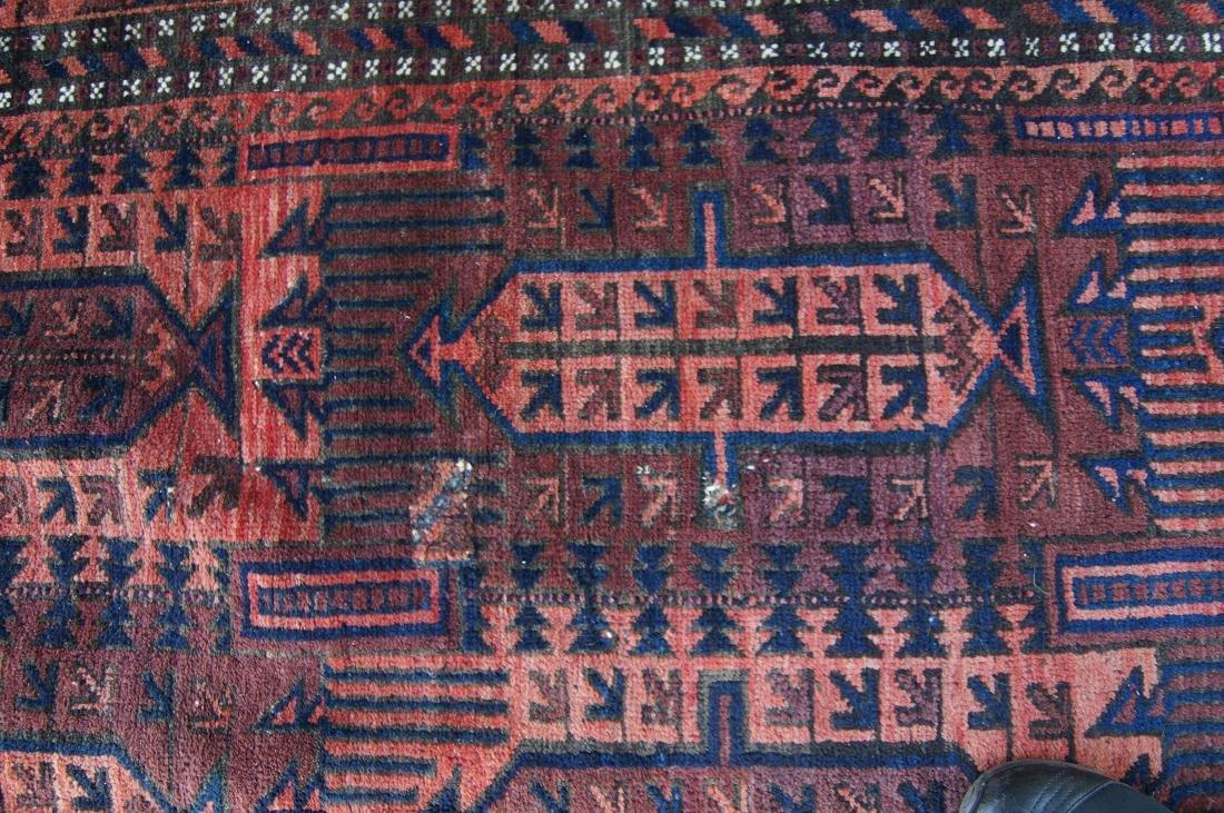 19th cen.  Beluch rug  65' X 102' - 7