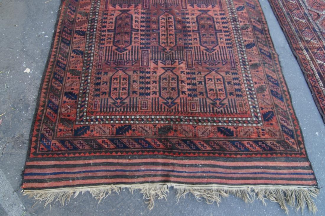 19th cen.  Beluch rug  65' X 102' - 8