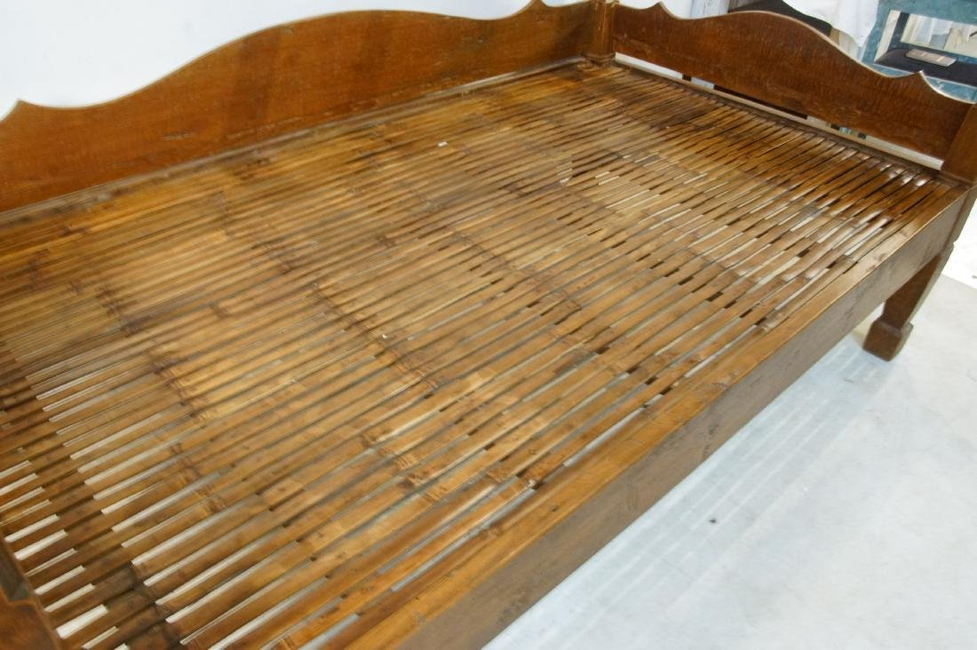 Antique Japanese canopy bed - 6