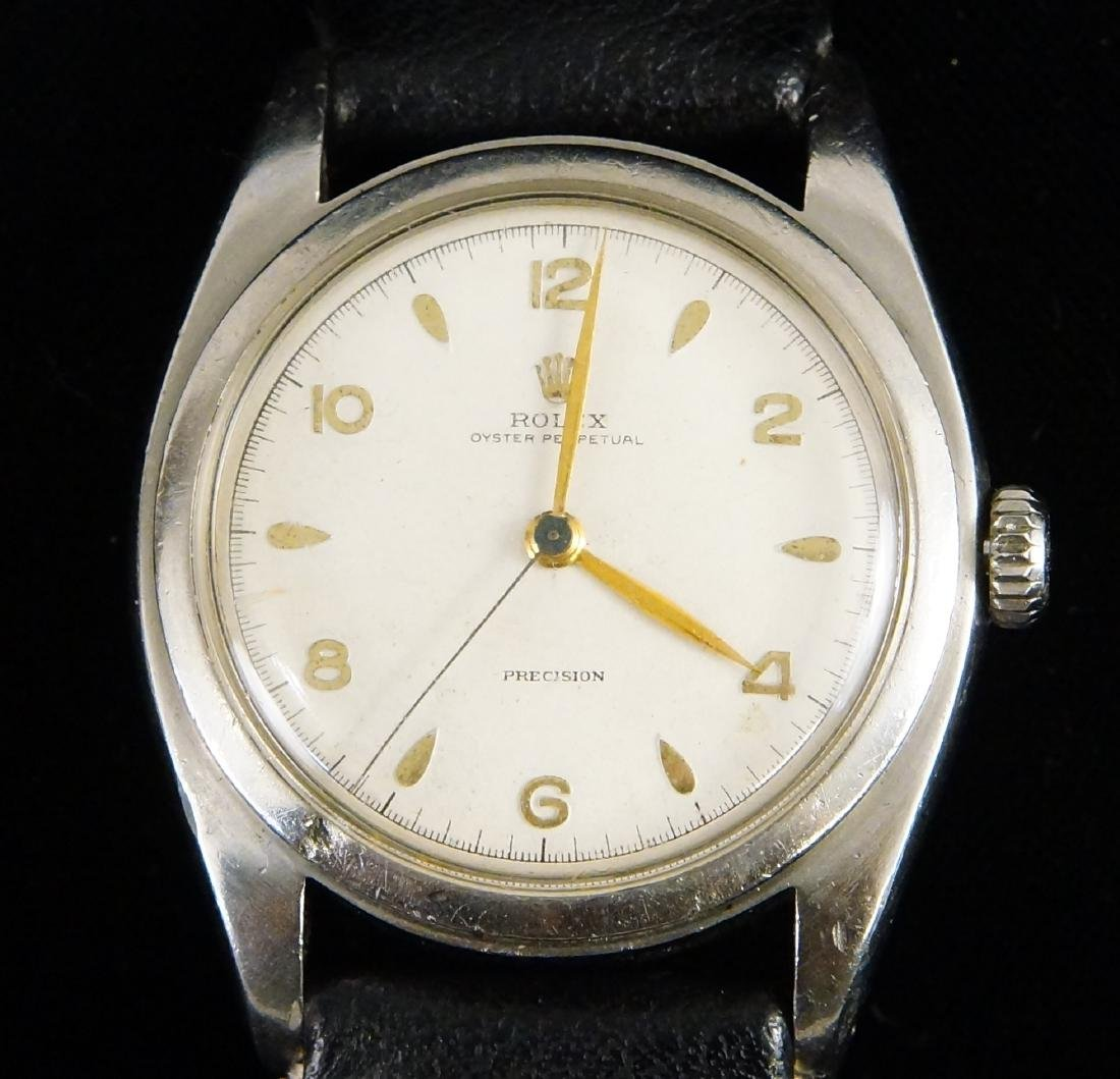 Rolex Bubbleback Oyster perpetual chronometer - 4