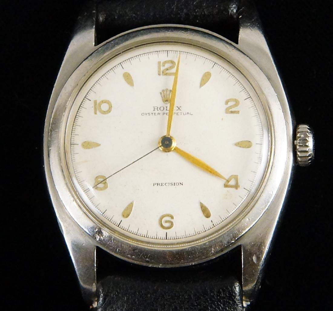Rolex Bubbleback Oyster perpetual chronometer - 9