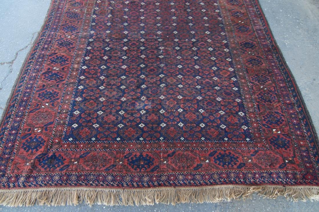 """19th C. Beluch rug -  excellent condition 72"""" x 116"""" - 3"""