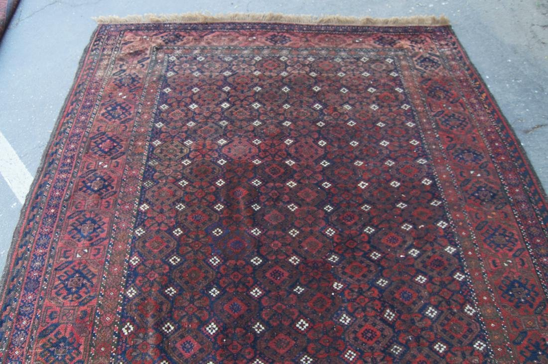 """19th C. Beluch rug -  excellent condition 72"""" x 116"""" - 4"""