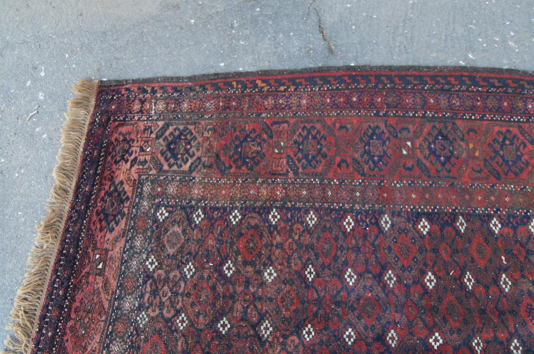 """19th C. Beluch rug -  excellent condition 72"""" x 116"""" - 5"""