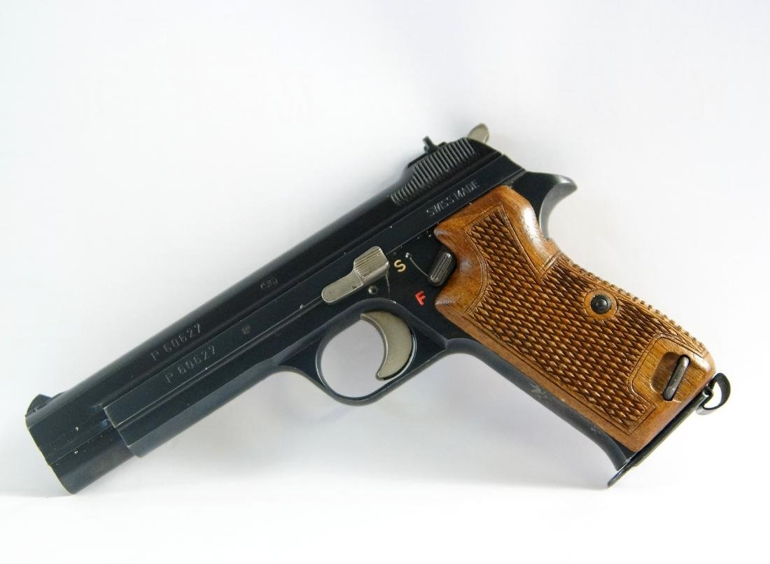 Early Swiss Sig P210 9mm #60627 - 2