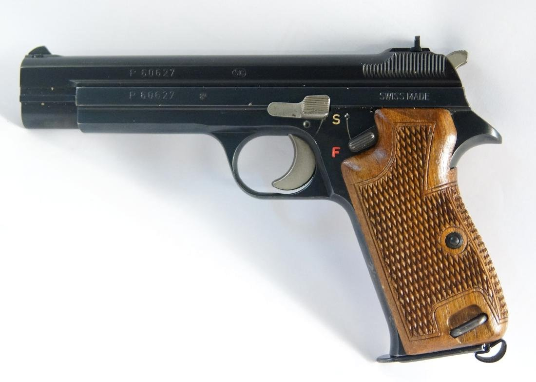 Early Swiss Sig P210 9mm #60627 - 3