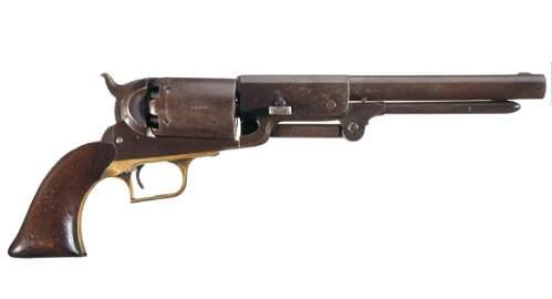 A Historic and rare Colt Walker Company A No. 126