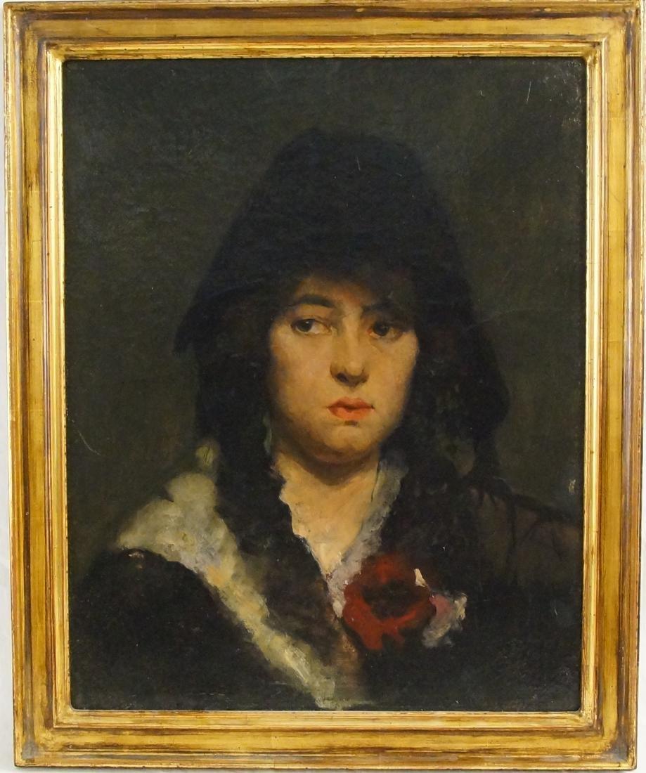 """Flemish portrait """"Bouchet"""" 20""""x16"""" oil on canvas"""