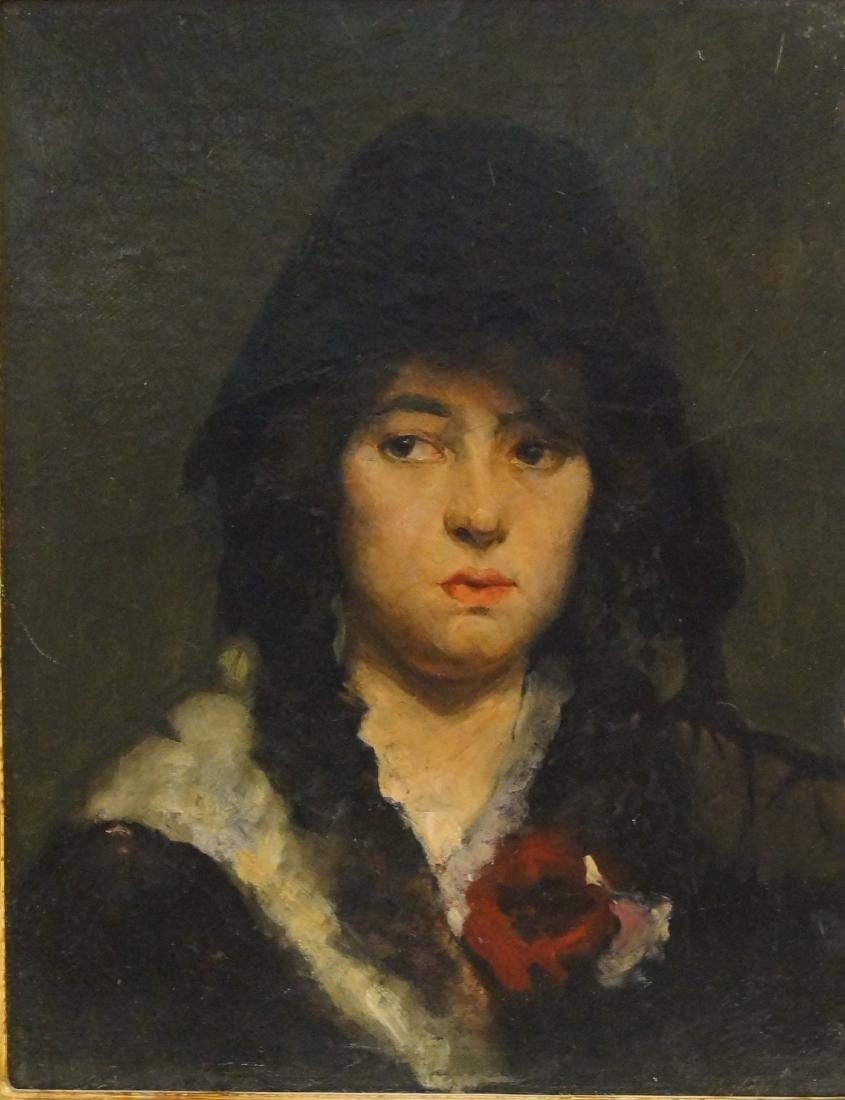 """Flemish portrait """"Bouchet"""" 20""""x16"""" oil on canvas - 2"""