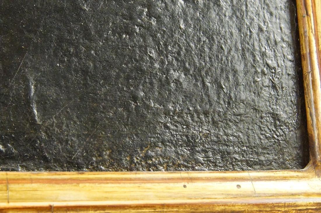 """Flemish portrait """"Bouchet"""" 20""""x16"""" oil on canvas - 6"""