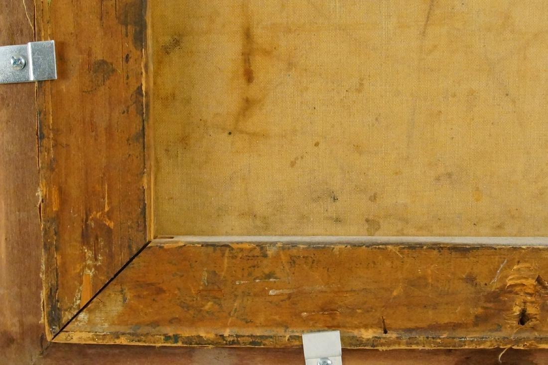 """Flemish portrait """"Bouchet"""" 20""""x16"""" oil on canvas - 9"""