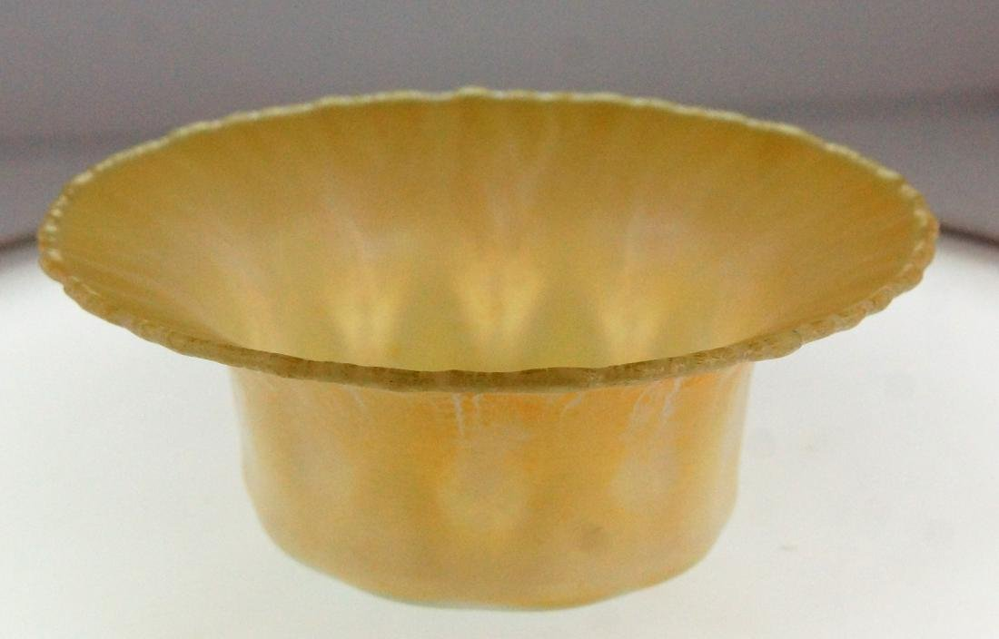 L.C. Tiffany favrile dish - 7