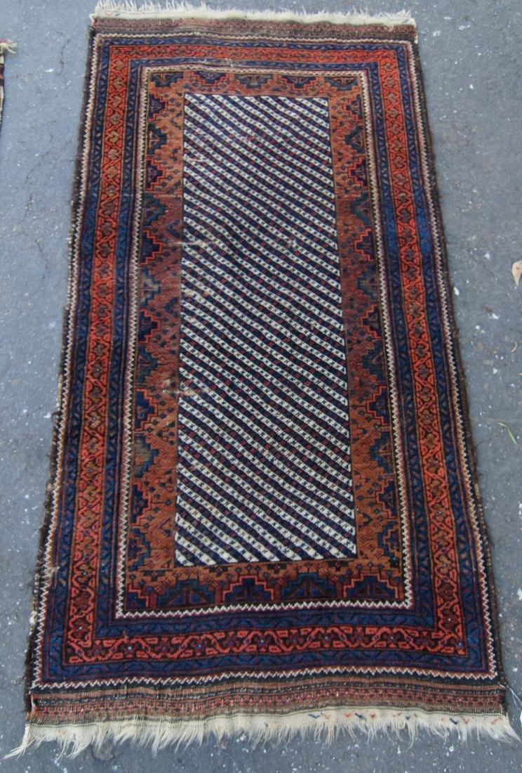 19th c. Persian Beluch rug