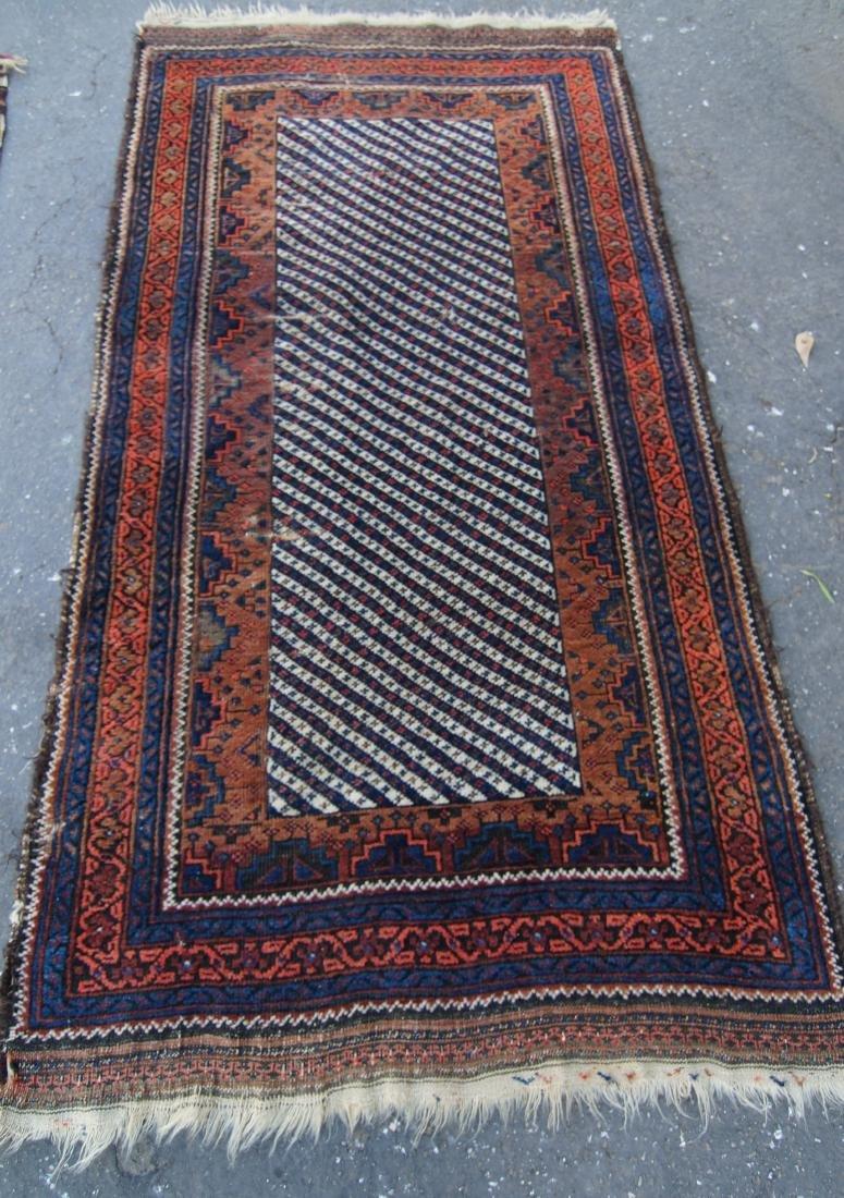 19th c. Persian Beluch rug - 2