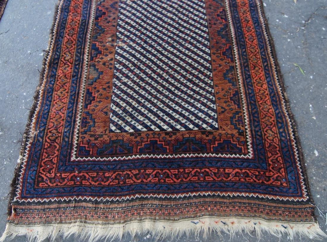 19th c. Persian Beluch rug - 3