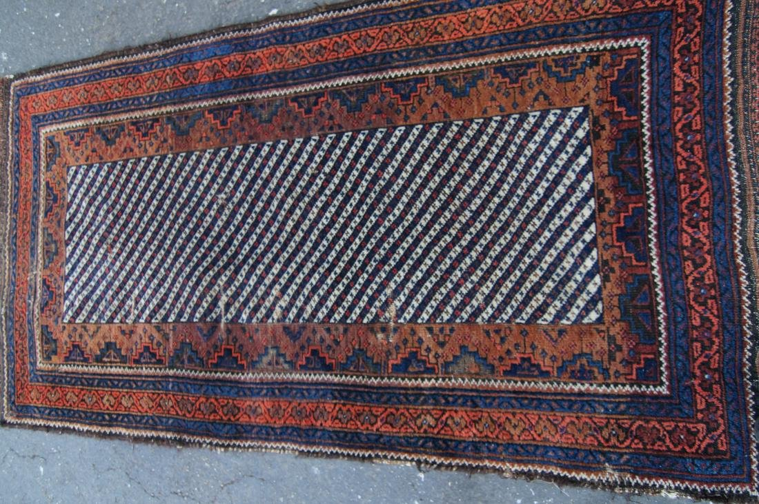 19th c. Persian Beluch rug - 4