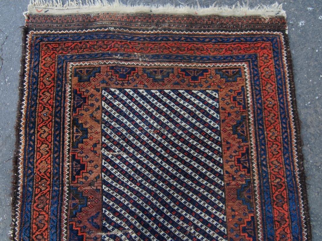19th c. Persian Beluch rug - 5