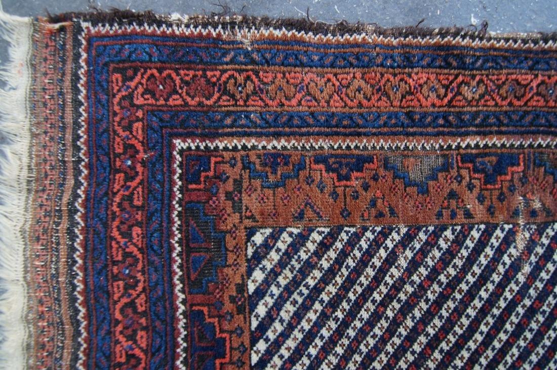 19th c. Persian Beluch rug - 6