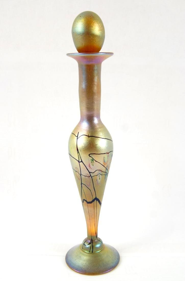 L.C. Tiffany Favrile perfume w stopper