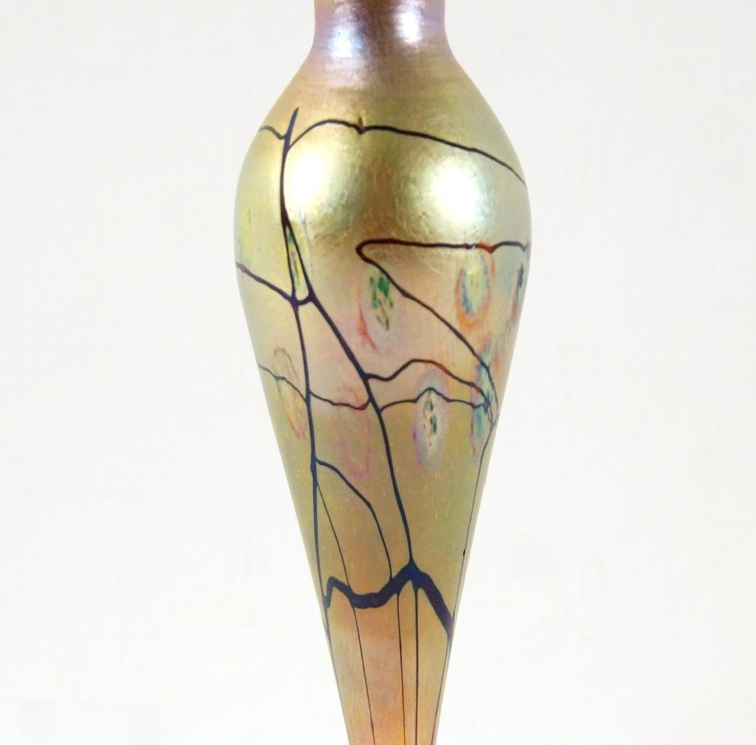 L.C. Tiffany Favrile perfume w stopper - 2