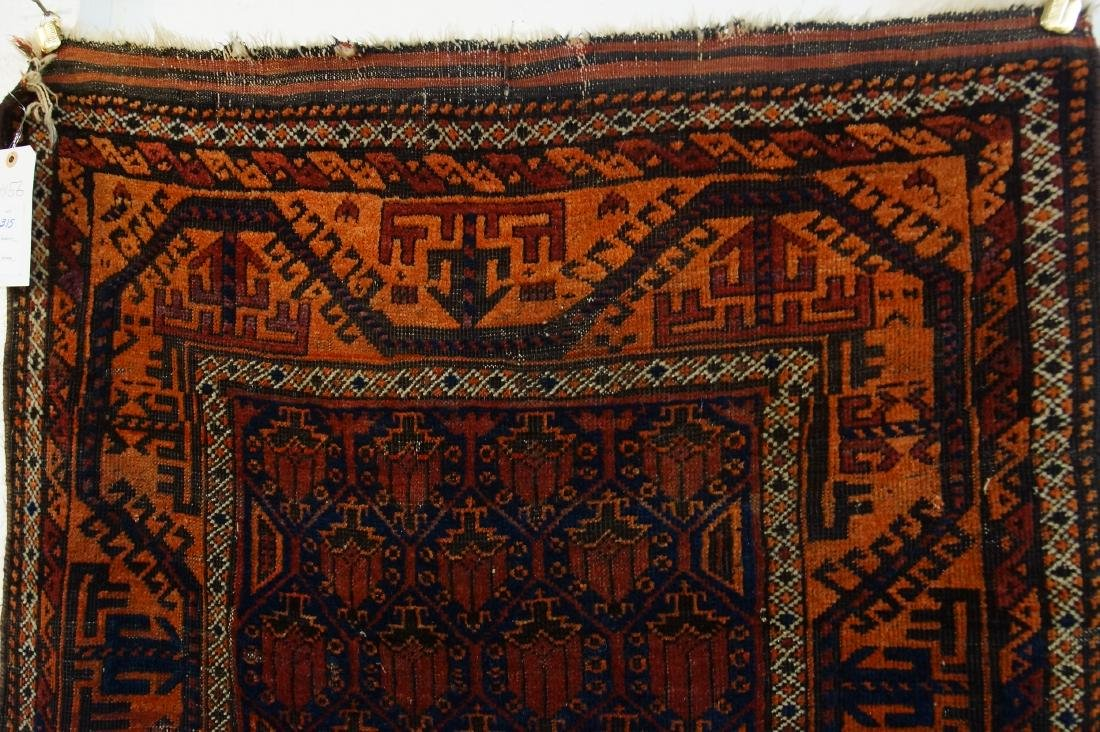 19th c. Beluch tribal rug - - 2