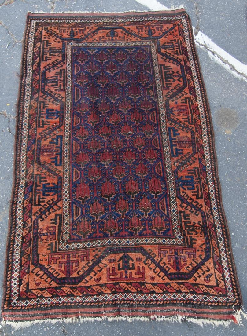 19th c. Beluch tribal rug - - 4