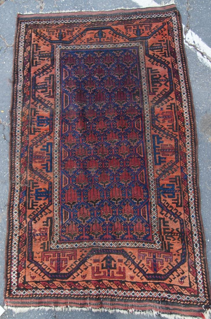 19th c. Beluch tribal rug - - 5