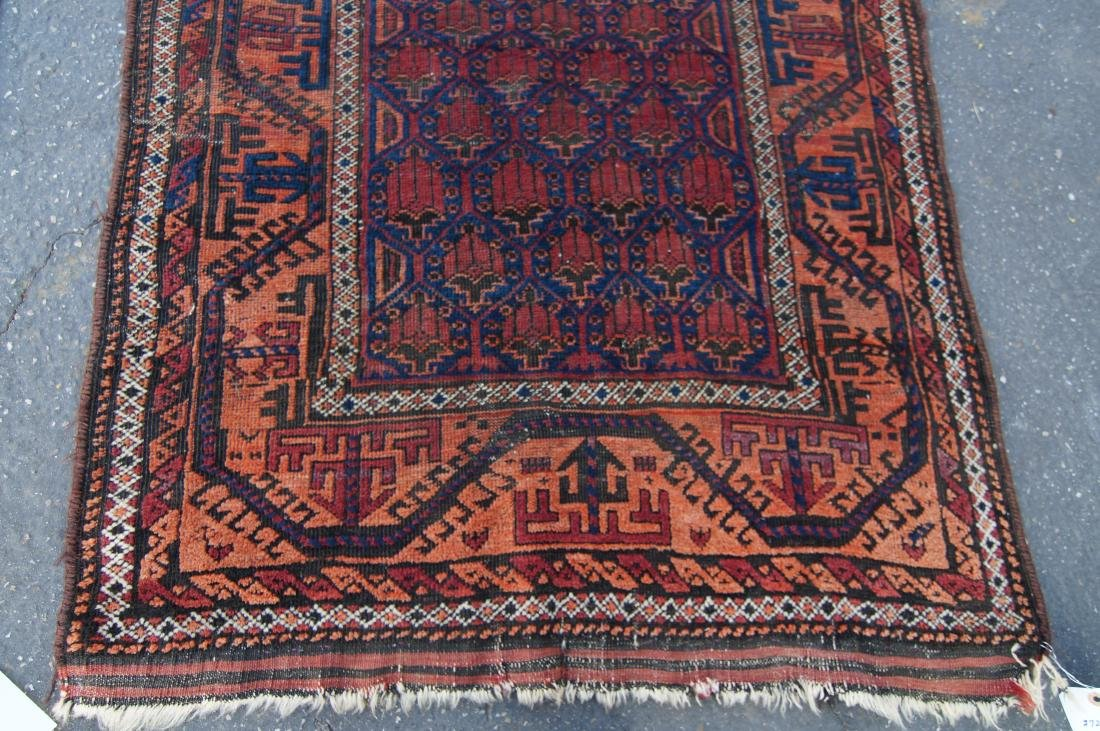 19th c. Beluch tribal rug - - 6