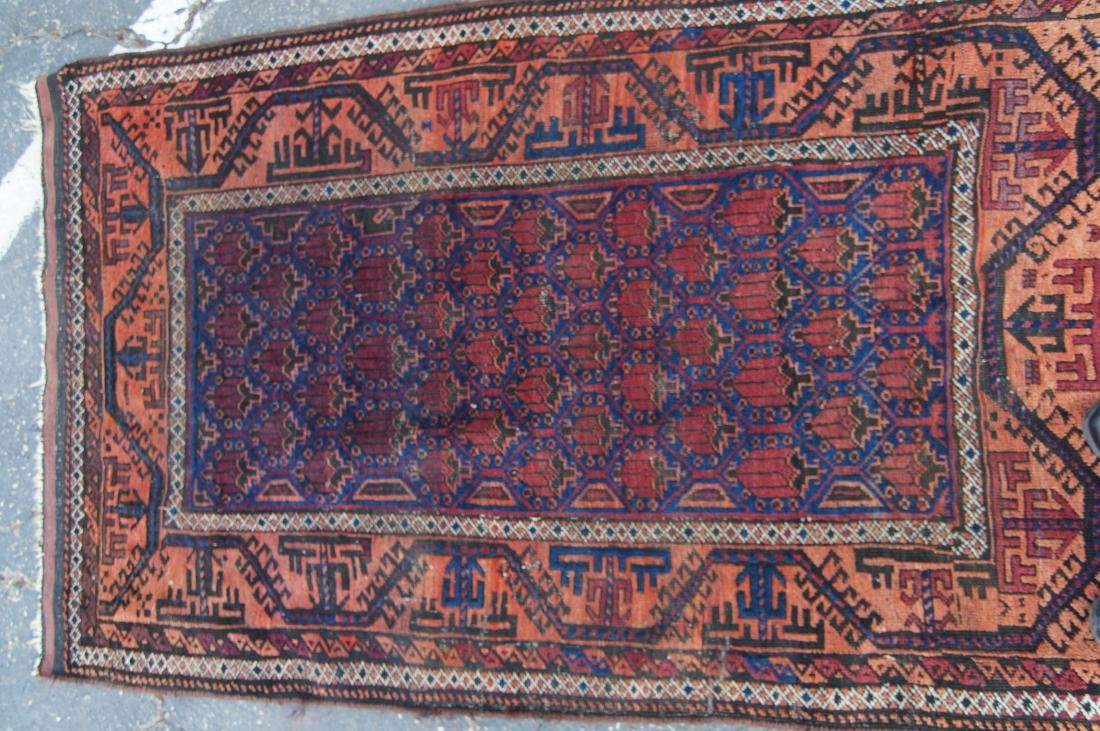 19th c. Beluch tribal rug - - 7
