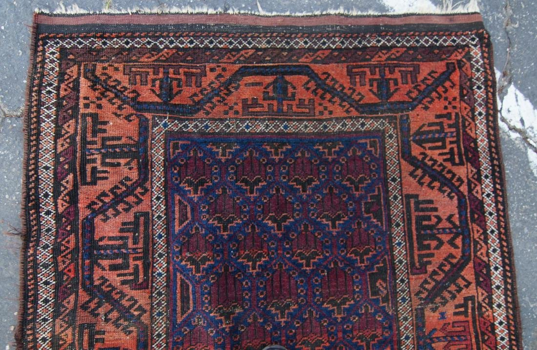 19th c. Beluch tribal rug - - 8
