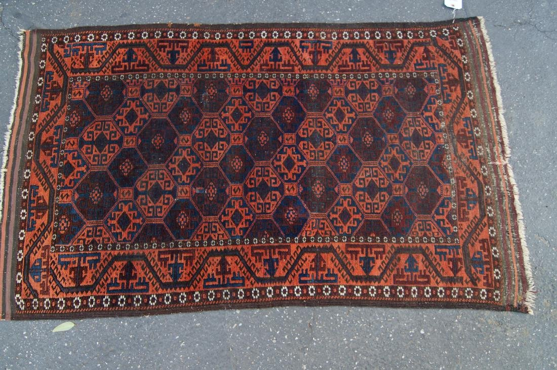 """19th cen. Beluch rug - 34"""" x 55"""" - 8"""