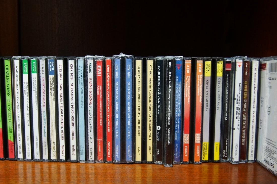 Lifetime collection of audio CD's - 10