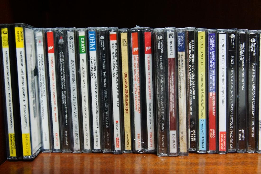 Lifetime collection of audio CD's - 8