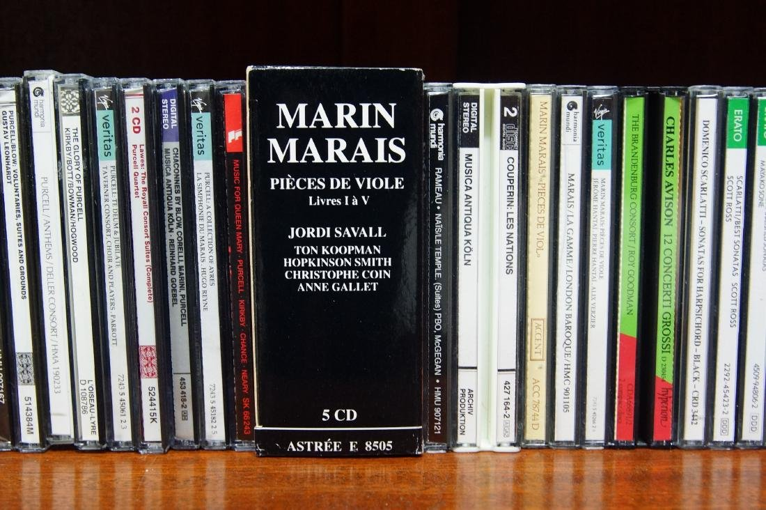 Lifetime collection of audio CD's - 9