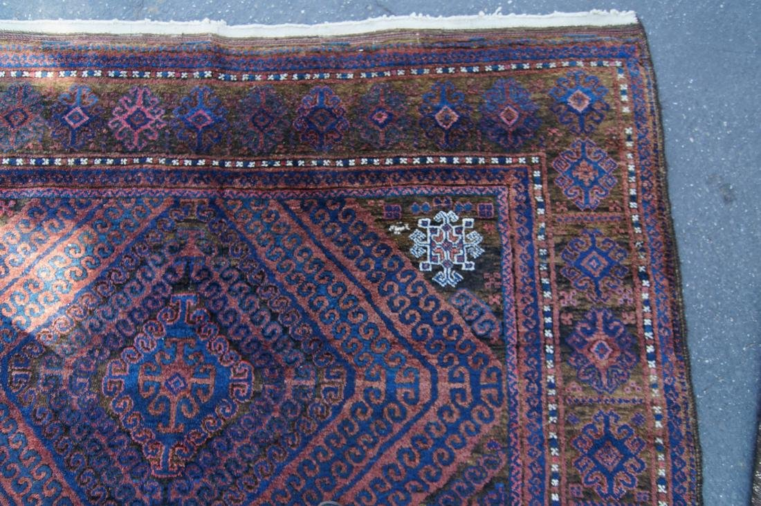 """19th cen. Beluch rug - 72' X 112"""" - 4"""