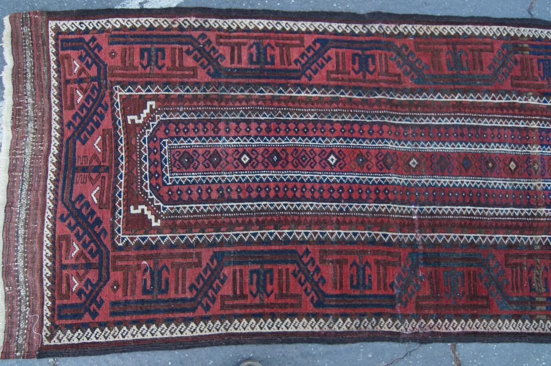 """Early 19th cen. Beluch rug -  36"""" x 72"""" - 5"""
