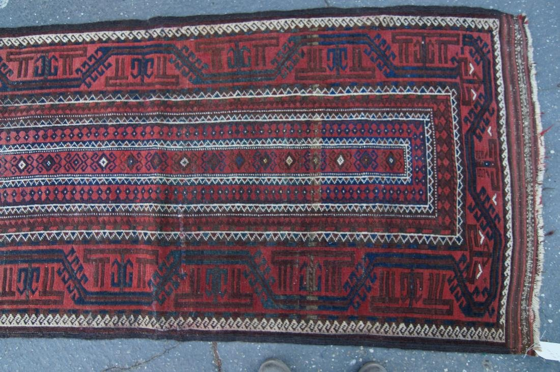 """Early 19th cen. Beluch rug -  36"""" x 72"""" - 6"""