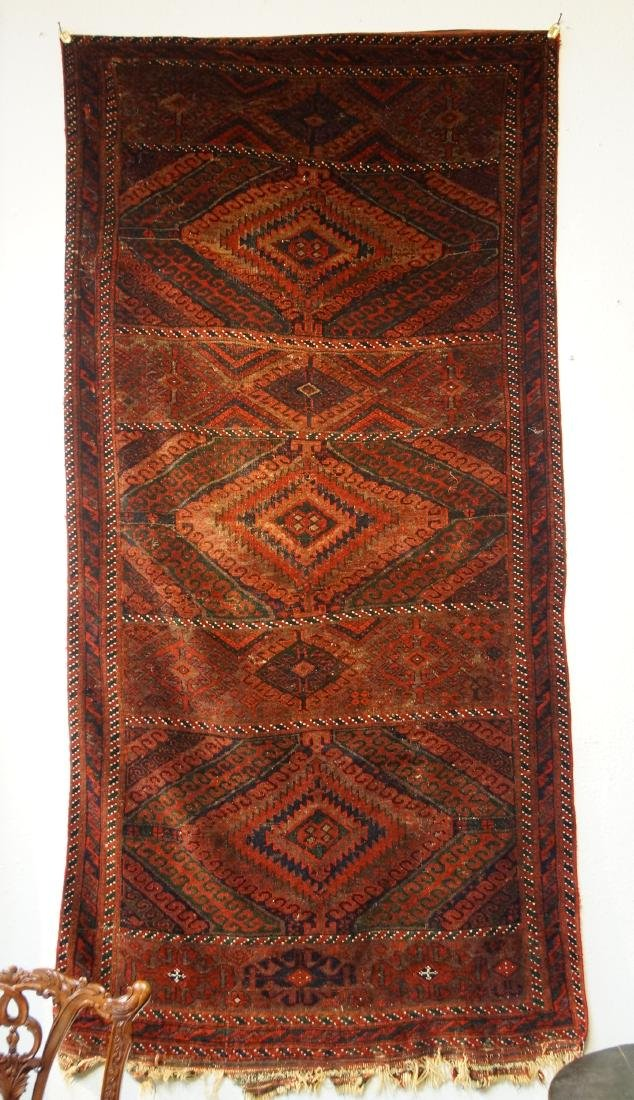 "19th cen. Beluch rug - 94"" x 48"""