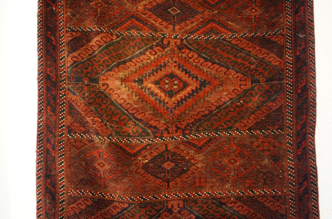 "19th cen. Beluch rug - 94"" x 48"" - 2"