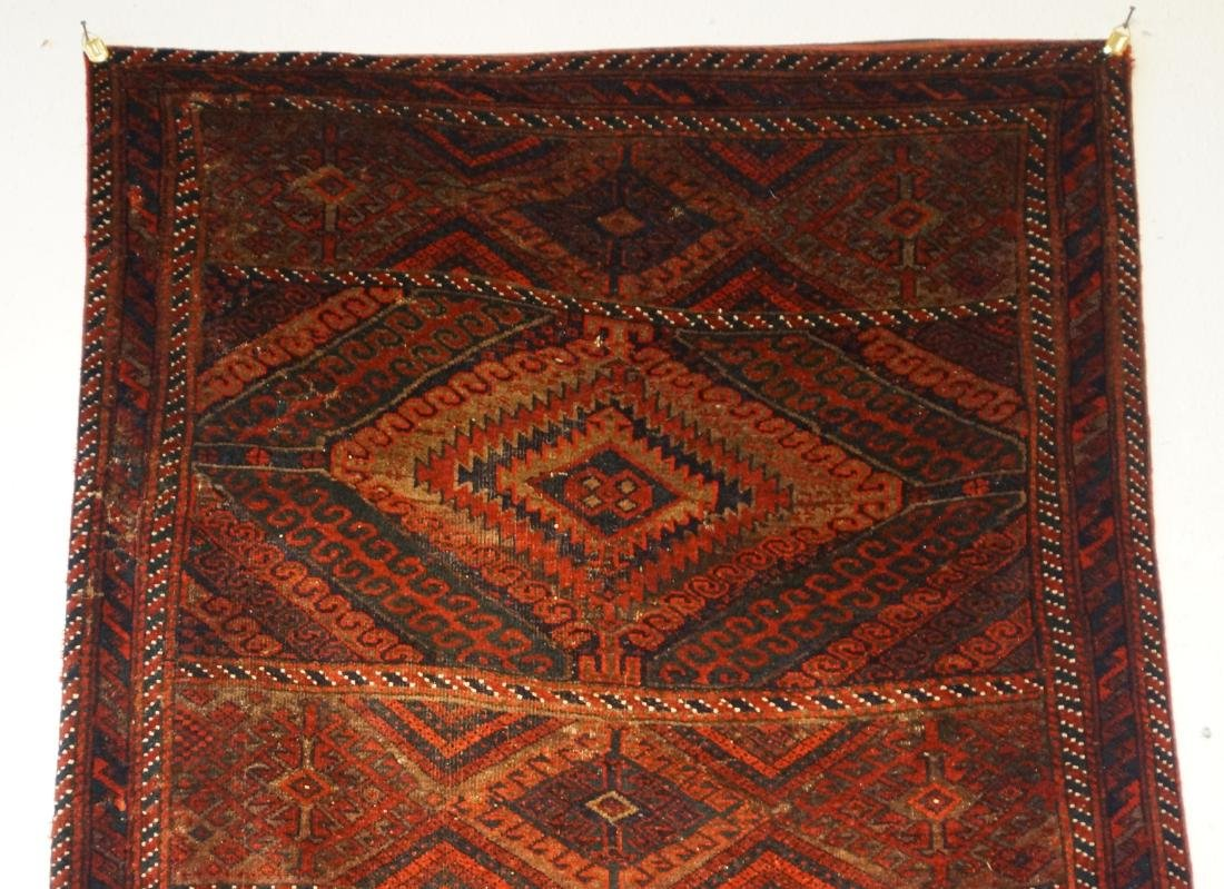 "19th cen. Beluch rug - 94"" x 48"" - 3"
