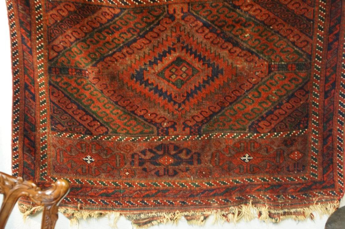 "19th cen. Beluch rug - 94"" x 48"" - 4"